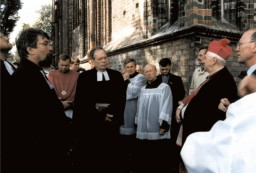 Pastor Schwarz, Superintendent Renner, Arcybiskup Przykucki, P. Helbich
