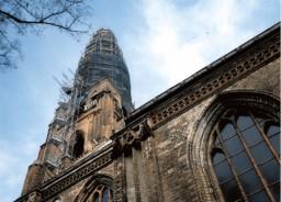 Obrusztowana wieża 1998 r.