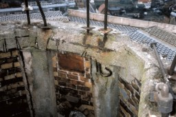 Betonowy wieniec na wysokości 90 m