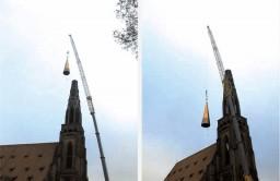 Od 20 grudnia 2000 r. wieża Kościoła Mariackiego ma znowu iglicę i wysokość 98,29 m
