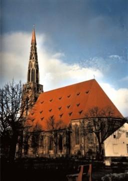 Kościół Mariacki z nowa iglica