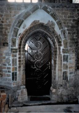 Wejście do Kaplicy Maryjnej