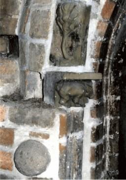 Detal ramy drzwiowej