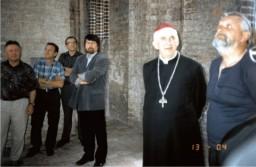 Arcybiskup Przykucki i Pastor Schwarz (z lewej)
